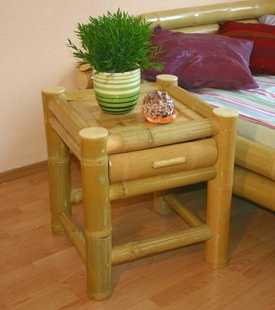 bambus nachttisch bambustrnds. Black Bedroom Furniture Sets. Home Design Ideas