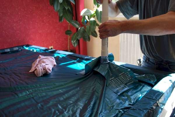 Manual de montaje / cama de agua 30