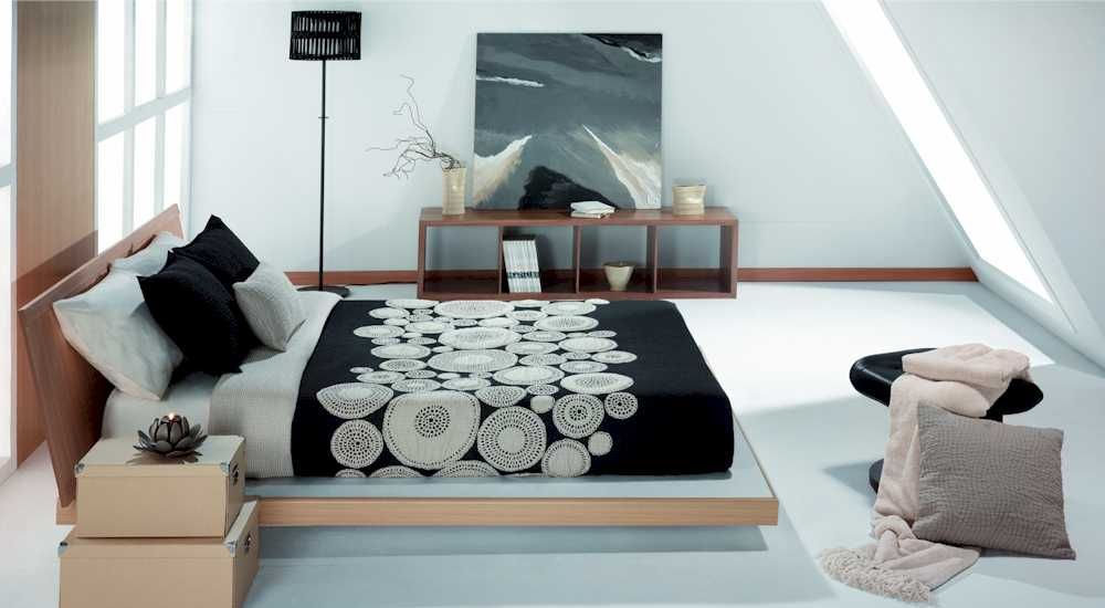 tagesdecke f r wasserbetten modell filati. Black Bedroom Furniture Sets. Home Design Ideas