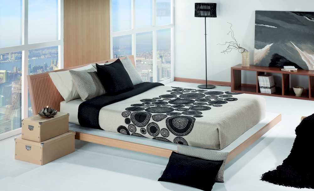 tagesdecke f r wasserbetten modell filati. Black Bedroom Furniture Sets. Home Design Ideas