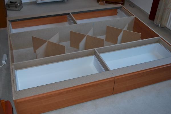 podest mit schubladen bauen ansprechend funvitcom bett. Black Bedroom Furniture Sets. Home Design Ideas